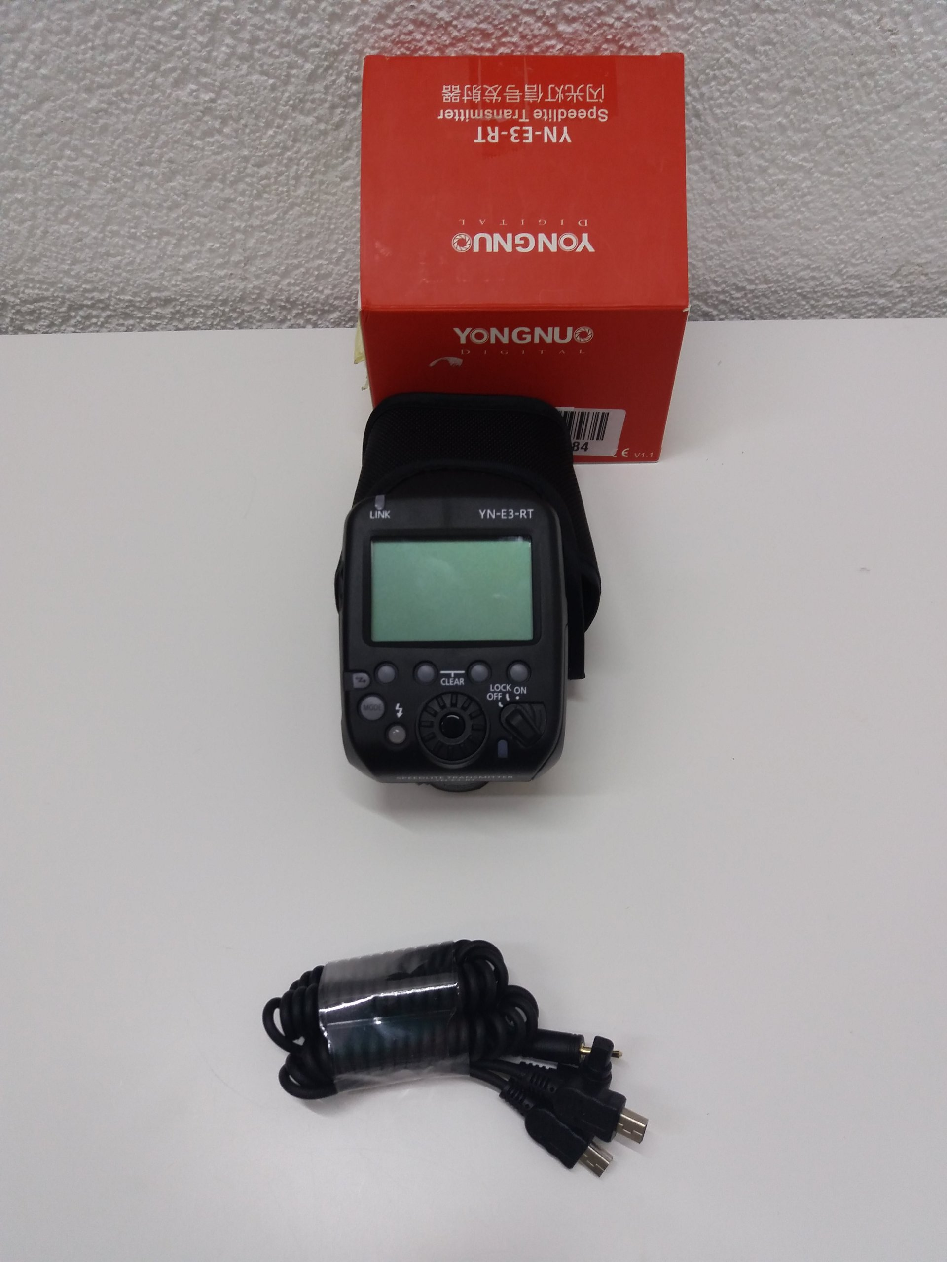 C8 Yongnuo YN-E3-RT kontroler radiowy stopka Canon
