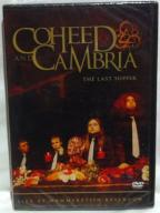 COHEED AND CAMBRIA - THE LAST SUPPER DVD! FOLIA!