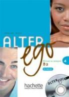Alter Ego 4 podręcznik + CD HACHETTE - S. Pons
