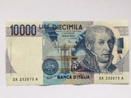 Włochy 10000  Lirów z 1984 roku