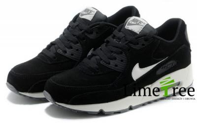 Nike Air Max 90 Czarne Białe Zamsz 41 42 43 44 45