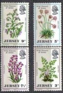 JERSEY Kwiaty kwiat Mi:61/64** 7,50Euro