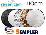 Blenda kołowa Foto Ravencam 5w1 110cm + pokrowiec