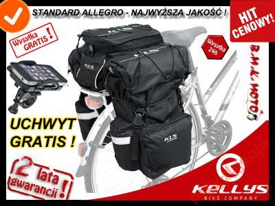 b3b8c53966f7f9 SAKWA na bagażnik KELLYS HOOK ykk + uchwyt tel. - 5263421538 ...