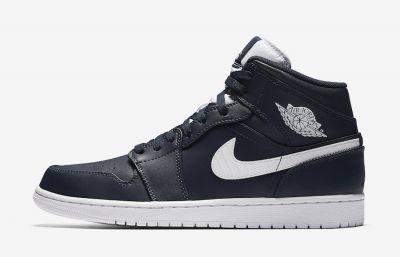 Buty Męskie Nike AIR JORDAN 1 MID 554724 402 42