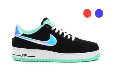 nike air force 1 black allegro