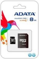 ADATA 8GB mSDHC CLASS 4 + ADAPTER SD NOWA !!!