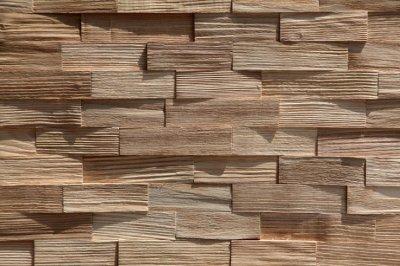 Panele Drewniane Dekoracyjne Jesion 27x1m Ciosane