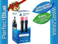 2 x KONTROLER MOVE TWIN PACK PS4 VR PLAYSTATION