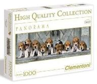 PUZZLE 1000 HQ PANORAMA BEAGLES, CLEMENTONI