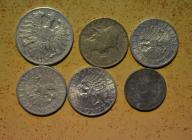 Austria - 6 monet mało powtórek - BCM