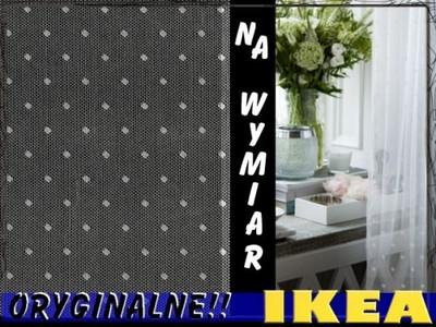 Ikea Romantyczne Firany W Kropki Kropeczki Sunrid