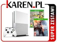 XBOX ONE S XONE X1 500GB +Fifa 17 +Battlefield 1