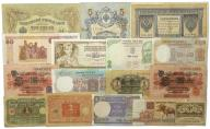 1.bo.Indie, ..., Zest.Banknotów szt.16, St.3/3+