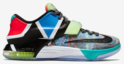 NIKE KD VII 7 What The DURANT  POLECAM !!!