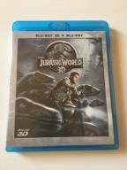 Jurassic World 3D Blu-Ray Lektor