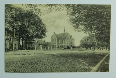 Gdańsk Danzig Langfuhr Wrzeszcz Conradinum