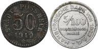 049. Possneck 50 pfg 1919 i Hamburg 5/100 mk (2sz)