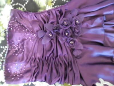 Sukienka rozm.44 kolor Bakłażan ,Wesele , itp