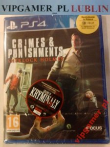 SHERLOCK HOLMES CRIMES AND PUNISHMENTS * LUBLIN *