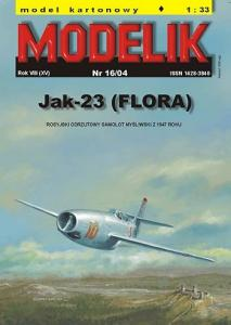 JAKOWLEW JAK-23 (kod NATO: FLORA)