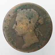1872-1883 Straits Settlements Wiktoria cent