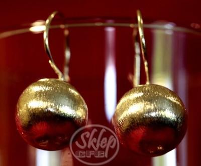 Kolczyki srebrne kule