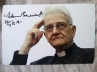 Ks. ADAM BONIECKI - zdjęcie z autografem