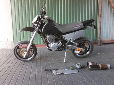 Honda Xr 600 R Supermoto Cross 6803527304 Oficjalne Archiwum Allegro