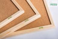 Tablica korkowa 80x100 drewniana + gratis a1