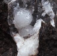 THOMSONIT kryształy w geodzie - CZECHY /ah135
