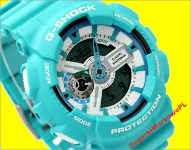 30b5118c8d6b46 ZEGAREK CASIO G-SHOCK GA-110SN-3AER SKLEP 3LATGWAR - 3371852713 ...