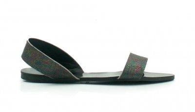 sandały czarne monnari