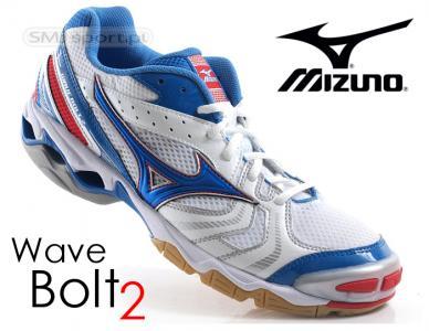 Buty Do Siatkowki Mizuno Wave Bolt 2 Biale 41 3952110561 Oficjalne Archiwum Allegro