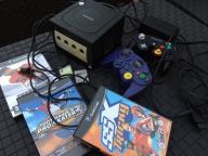Gamecube Nintendo- czarne, SSX Tricky, THPS3