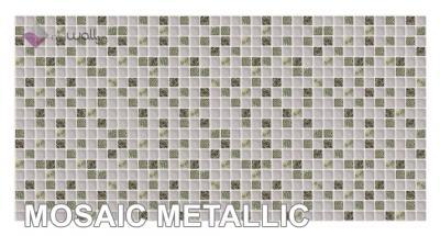 Panele ścienne 3d Pcv Mozaika Metallic łazienka