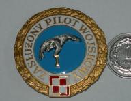 Zasłużony Pilot Wojskowy - złota