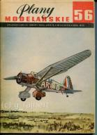 PM Plany modelarskie 56 Westland Lysander s1