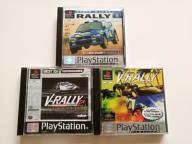 PSX Zestaw - Colin McRAE, V-rally & V-Rally 2