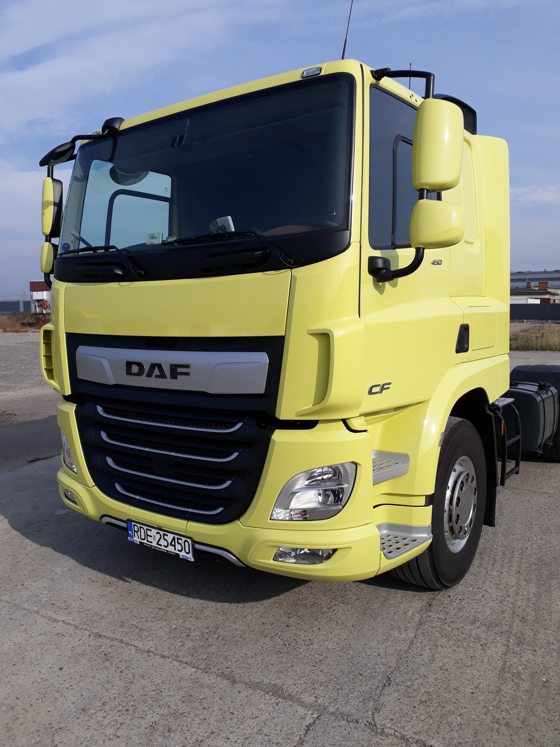 Poważnie DAF CF 450 (nowy model 2017) najniższa waga 6500kg - 7012461777 LT09
