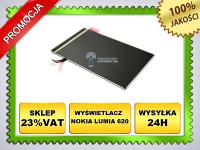 NOWY ORYG EKRAN LCD WYŚWIETLACZ - NOKIA LUMIA 620