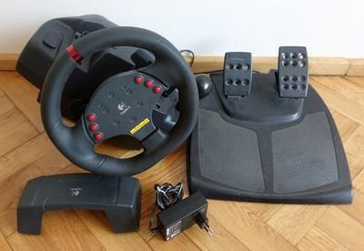 6b3564cb762 Kierownica Logitech Momo Racing Force Feedback - 6857839205 ...