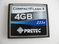 PRETEC 233x cf 4 GB
