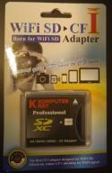 Adapter SD CF Type I SDXC 2TB Wi-Fi Compact Flash