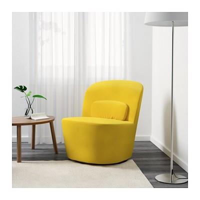 Fotel Ikea Stockholm żółty Jak Nowy 6644762163 Oficjalne
