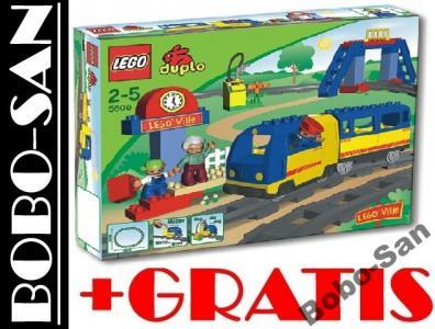 Klocki Lego Duplo 5608 Jeżdżący Pociąg Kolejka 24h 3583116830