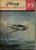 PM Plany modelarskie 77 PZL M-4 Tarpan