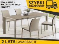ARABIS 2 stół rozkładany 122-182x80 brąz