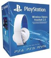 PLAYSTATION WIRELESS STEREO HEADSET 2.0 WHITE