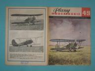 Plany Modelarskie 49 - PO-2, WILGA, AVRO LANCASTER